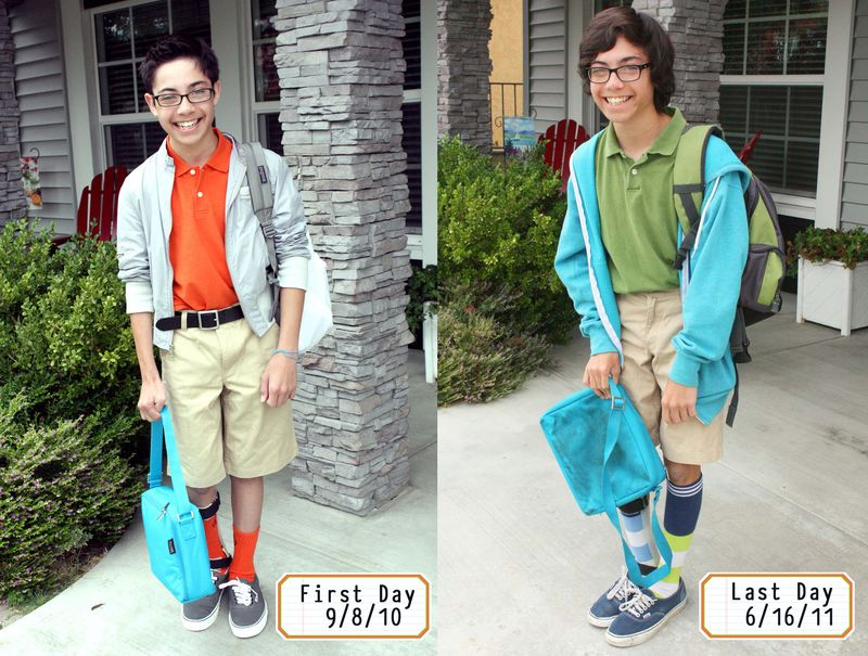 First and Last School days 6-16-11