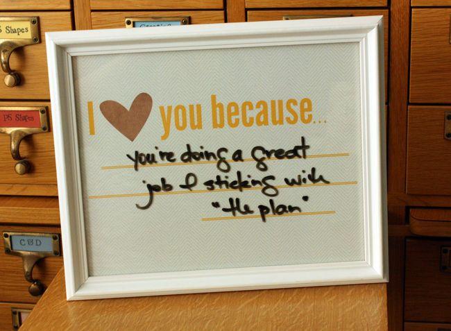 Just Make Stuff Blog...Love You Because Free Printable