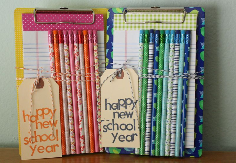Just Make Stuff Blog...Mini Clipboard Teacher Gift