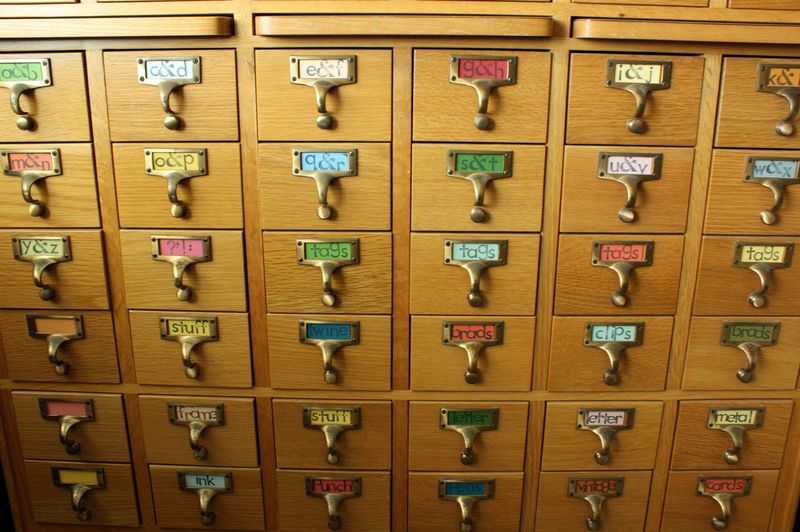 Just Make Stuff...Card Catalog