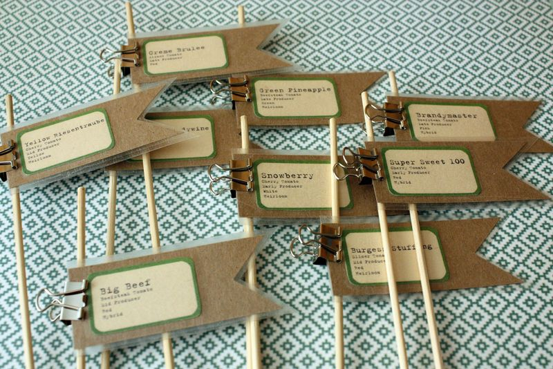 Just Make Stuff Blog...Plant Labels