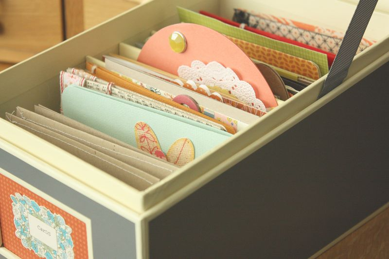 Just Make Stuff...Greeting Card Storage