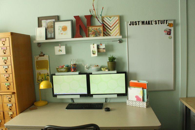 Just Make Stuff Blog...Craft Room