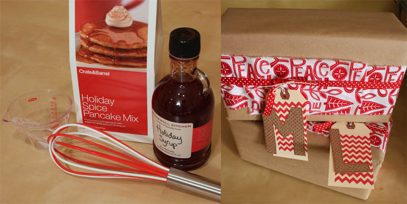 Just Make Stuff Blog...Pancake Supplies Teacher Gifts