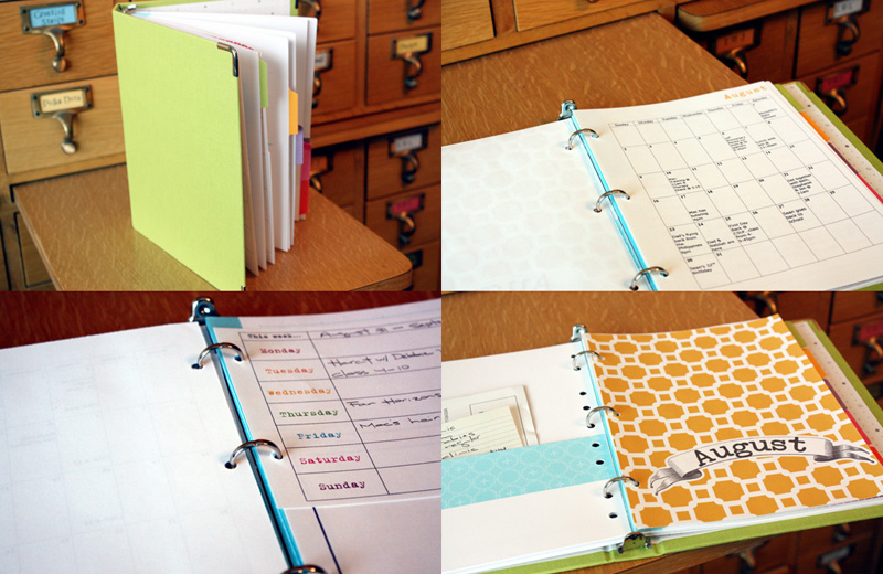 Just Make Stuff...Homemade Planner