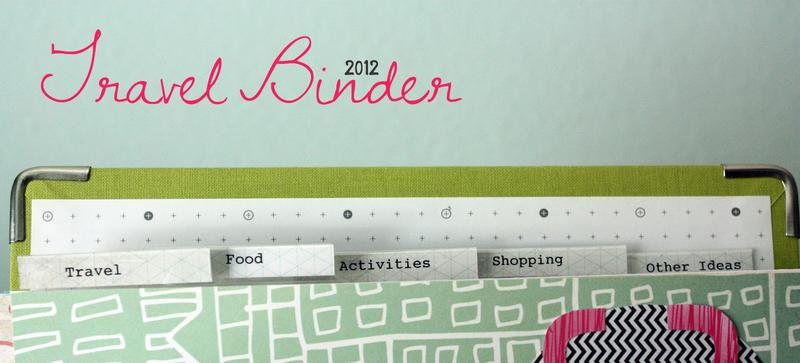 Just Make Stuff Blog...Travel Binder