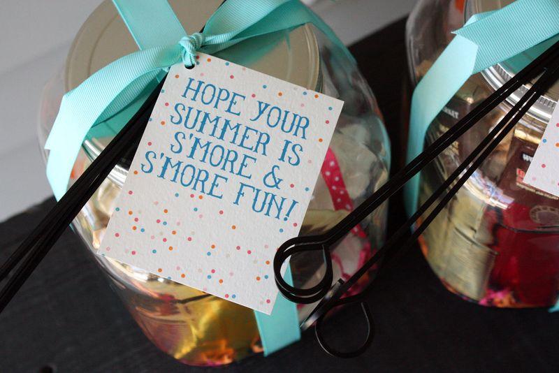 Just Make Stuff Blog...S'more Kit Teacher Gifts