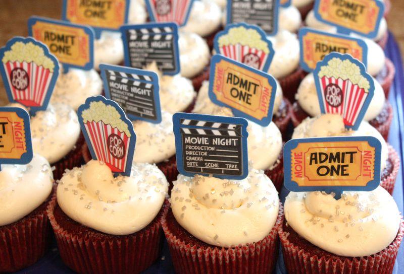Just Make Stuff Blog...Movie Party