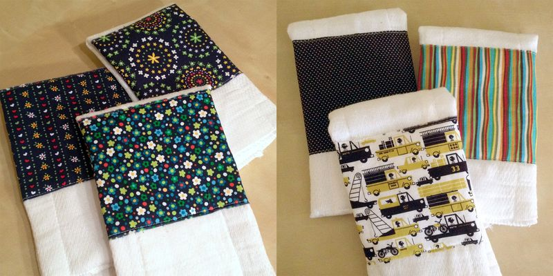 Just Make Stuff Blog...Burp Cloths