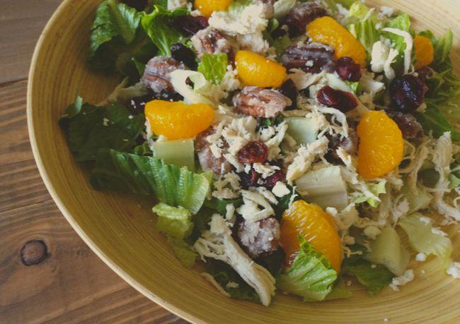 Just Make Stuff Blog...Cranberry Orange Chicken Salad
