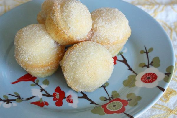 Just Make Stuff...Sugar Donut Muffins