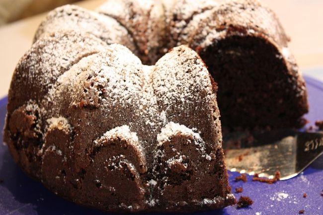 Just Make Stuff Blog...Chocolate Mint Cream Cheese Pound Cake