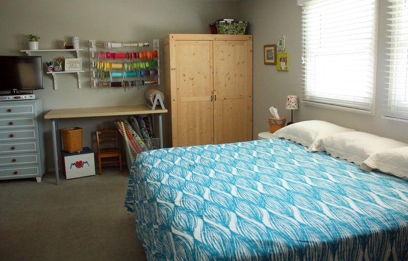 Just Make Stuff Blog...Guest Room