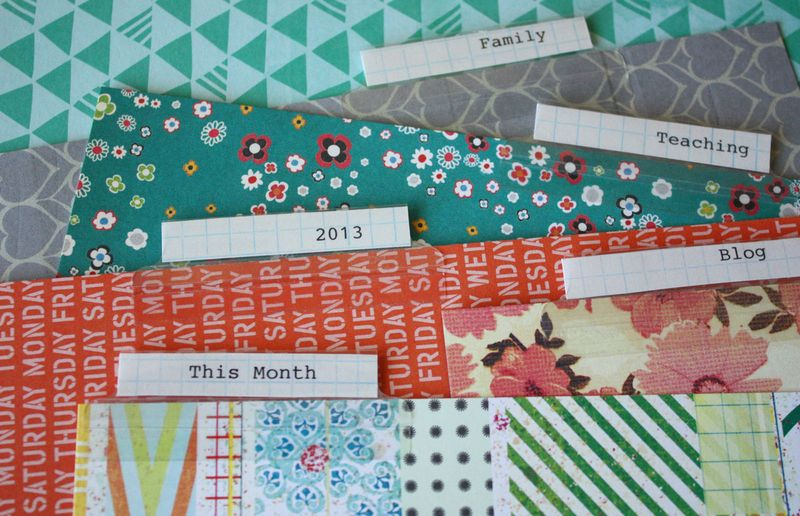 Just Make Stuff Blog...Planner Dividers