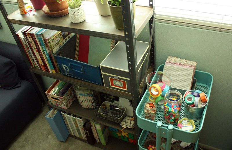 Just Make Stuff Blog...Craft Room Rearranging