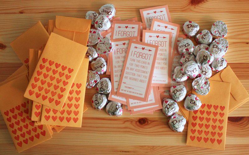 Just Make Stuff Blog...College Student Valentine's