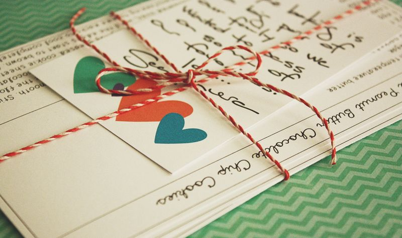 Just Make Stuff...Wedding Gift Recipe Cards
