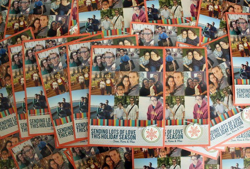 Just Make Stuff Blog...Christmas Cards 2012