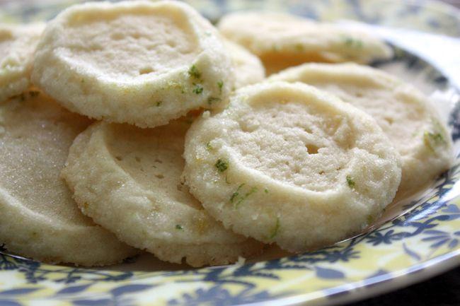 Just Make Stuff Blog...Lemon Sugar Cookies with Zesty Lime Salt