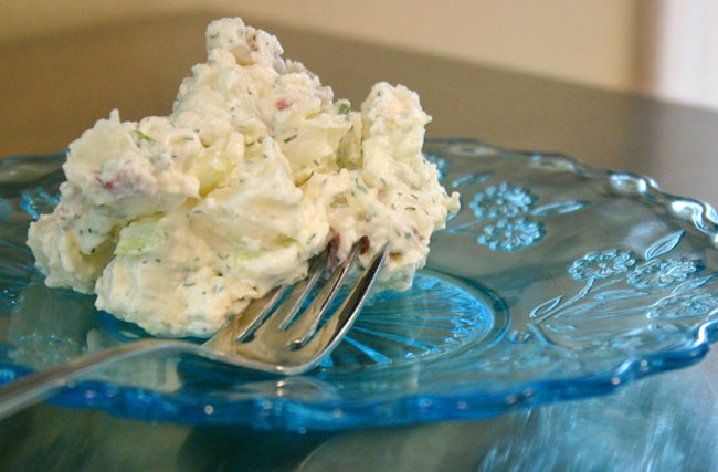 Just Make Stuff Blog...Dill Potato Salad