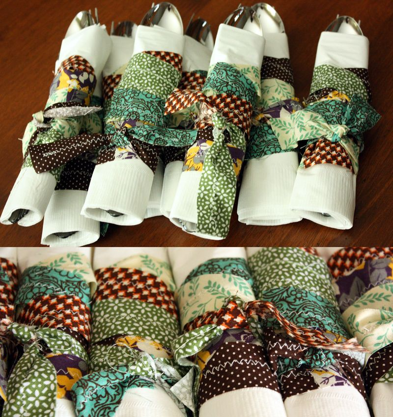 Just Make Stuff Blog... Thanksgiving Napkin Rings