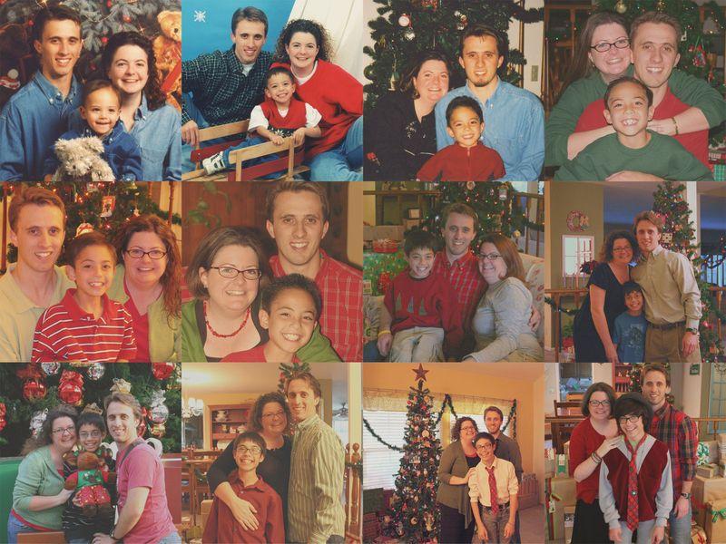 Christmas Photos Collage rz 1600