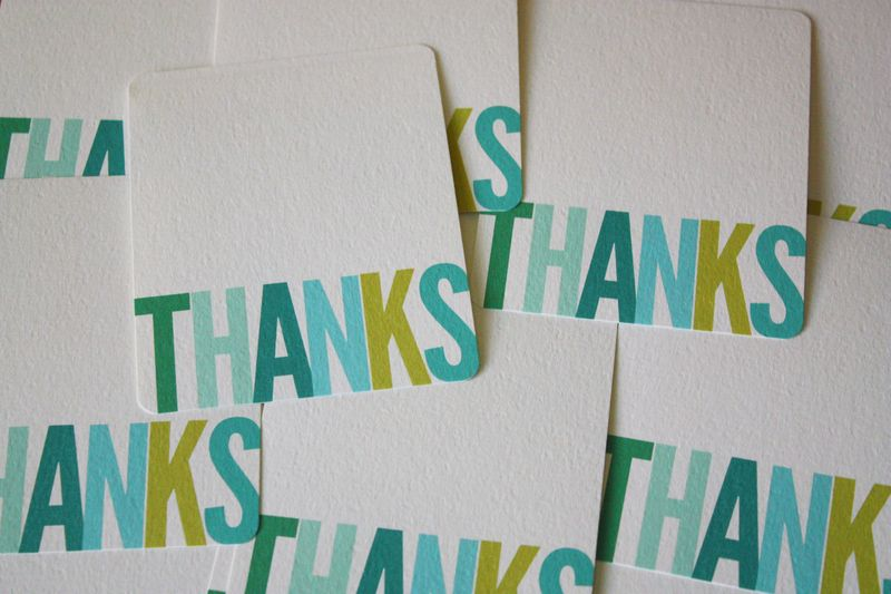 Just Make Stuff Blog...Thank You Note Download