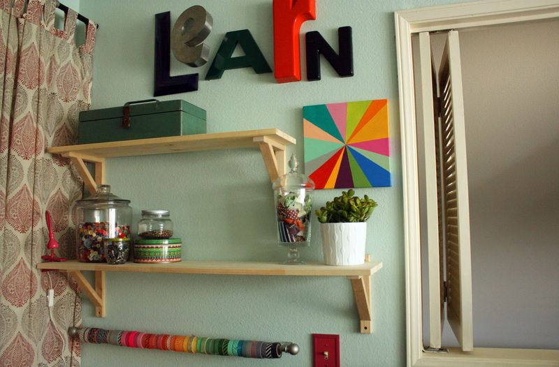 Just Make Stuff Blog...Craft Room Rearranging
