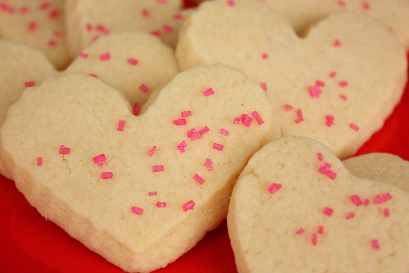 Just Make Stuff Blog...Heart Sugar Cookies