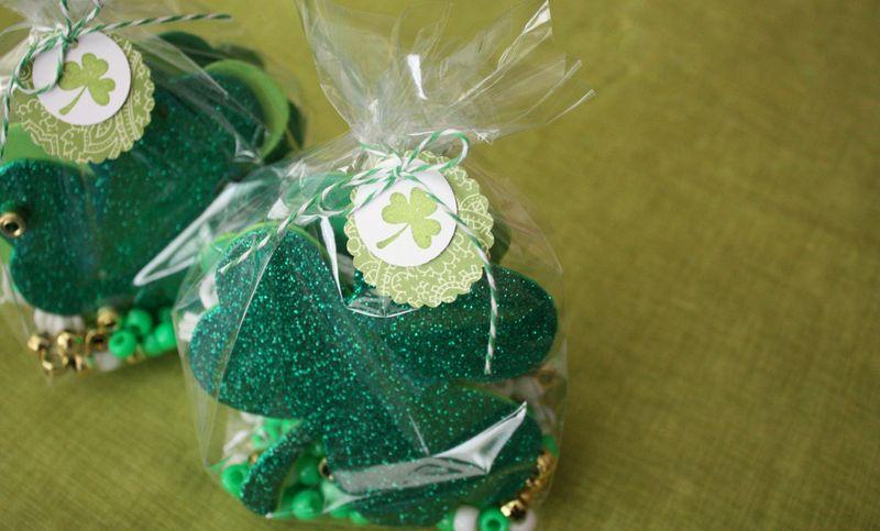 Just Make Stuff Blog...Shamrock Necklace Kits