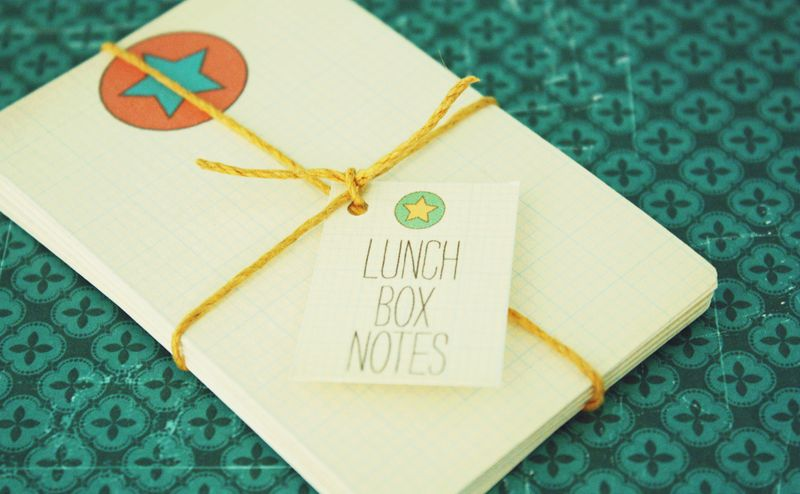 Just Make Stuff Blog...Free Printable Lunch Box Notes