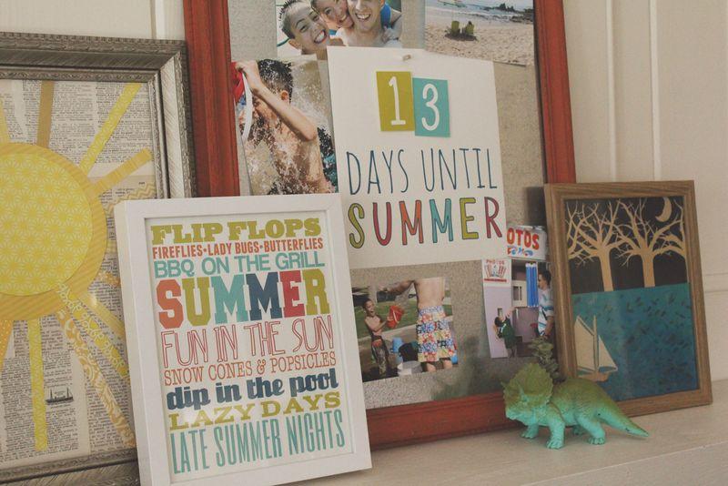 Just Make Stuff Blog...Free Printable Summer Countdown