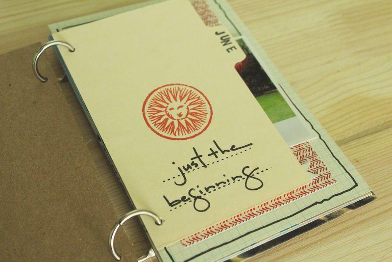 Just Make Stuff Blog...Summer Minibook