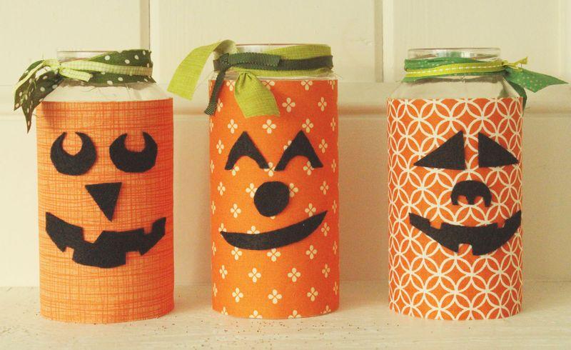 Just Make Stuff Blog...Pumpkin Jars