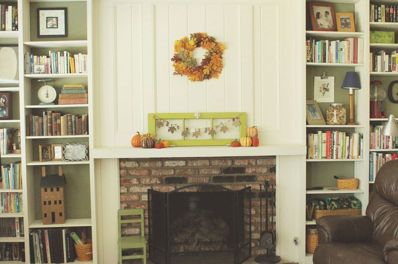 Just Make Stuff Blog...Fall Mantle