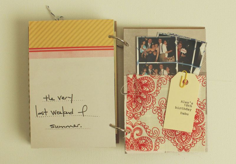 Just Make Stuff Blog...Summer Scrapbook