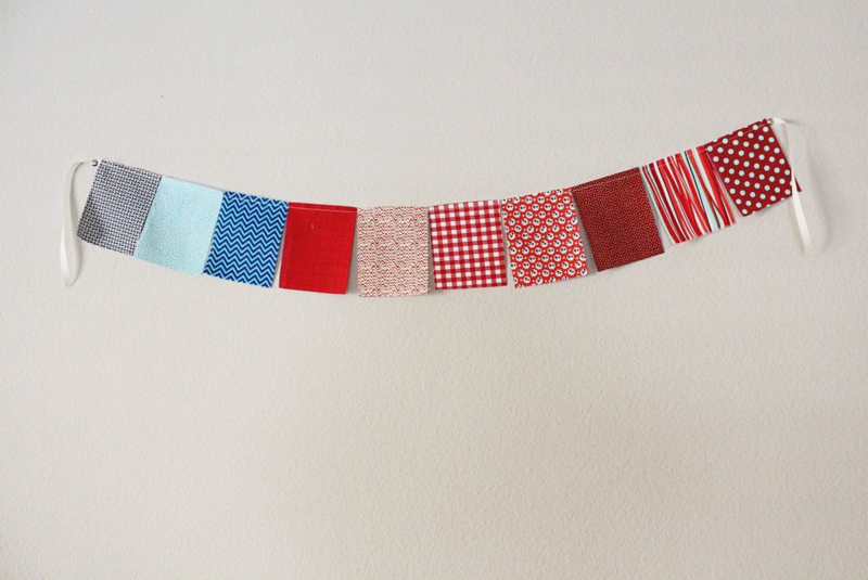 Patchwork Patriotic Banner...Just Make Stuff Blog