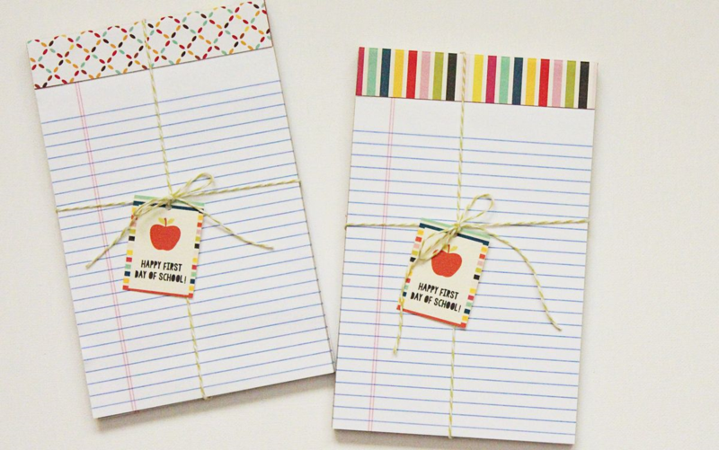 Teacher Gift Notepads...Just Make Stuff Blog