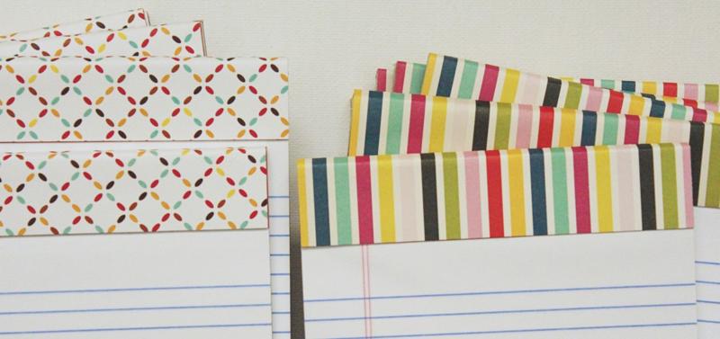 Teacher Gift Notepads...Just Make Stuff Blog
