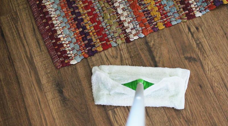 Washcloth Swiffer Wipes...Just Make Stuff Blog
