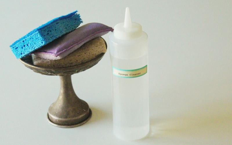 Vinegar Sponge Cleaner...Just Make Stuff Blog