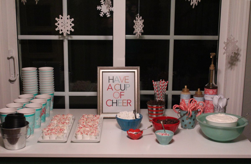Hot Chocolate Bar...Just Make Stuff Blog