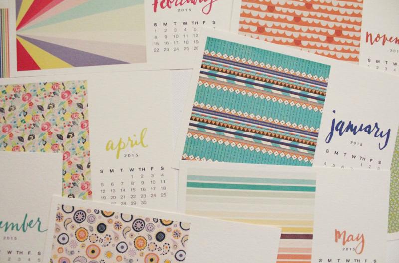 Free Printable Desk Calendar...Just Make Stuff Blog