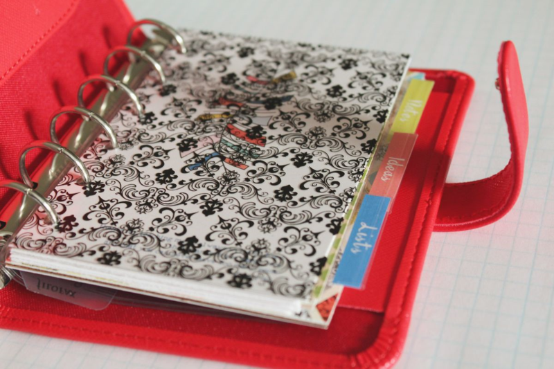 Pocket Filofax...Just Make Stuff Blog