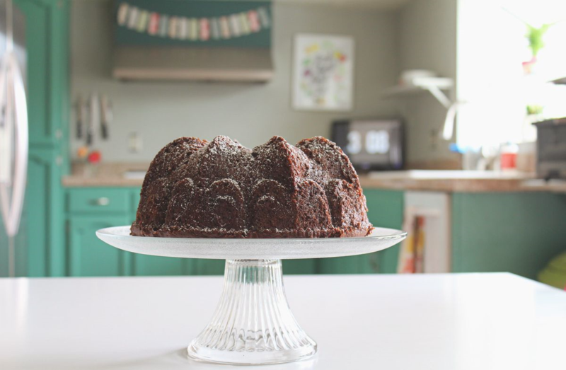 Chocolate Marshmallow Pound Cake...Just Make Stuff Blog