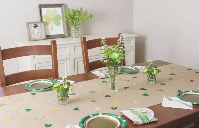 Irish Baby Luncheon...Just Make Stuff Blog