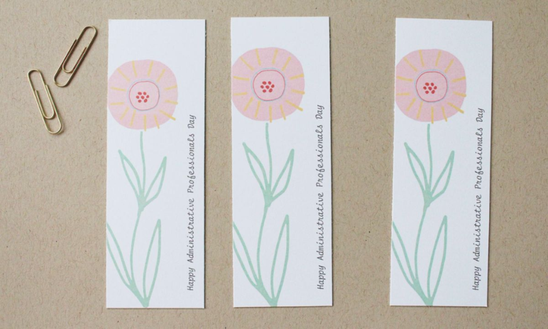 Free Printable Administrative Professionals Day Gift Tags...Just Make Stuff Blog
