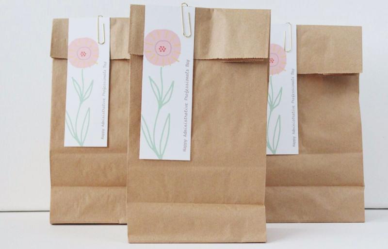 Free Printable Administrative Professionals Day Gift TagsJust Make Stuff Blog