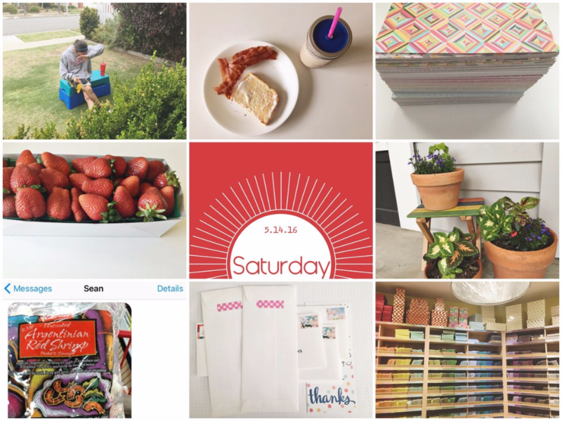Week in the Life: Saturday...Just Make Stuff Blog