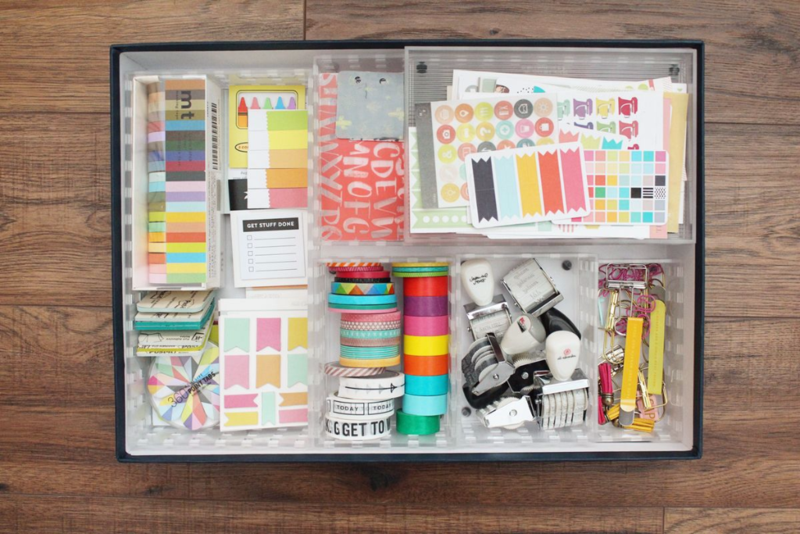 Planner Supply Organizing...Just Make Stuff Blog